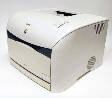 Canon LBP5200 Farblaserdrucker inkl. USB, LAN gebraucht - 7.800 gedr.Seiten