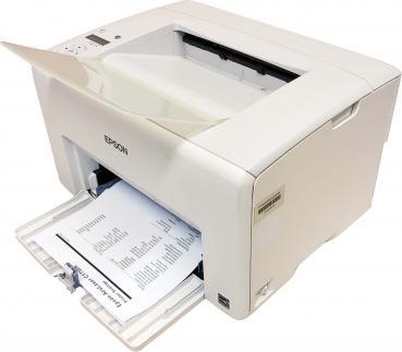 Epson AcuLaser C1750W WLAN Farblaserdrucker gebraucht - 12.900 gedr. Seiten