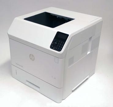HP LaserJet Enterprise M605dn E6B70A Laserdrucker sw gebraucht - 29.000 gedr.Seiten