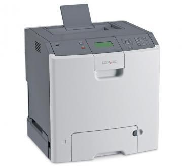 Lexmark C736dtn Farblaserdrucker gebraucht - 32.000 gedr.Seiten