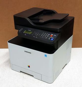 SAMSUNG CLX-4195FN Farblaser-Multifunktionsgerät gebraucht - erst 1.600 gedr.Seiten