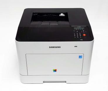 Samsung CLP-680ND CLP680nd Farblaserdrucker bis DIN A4 gebraucht - 17.000 gedr.Seiten