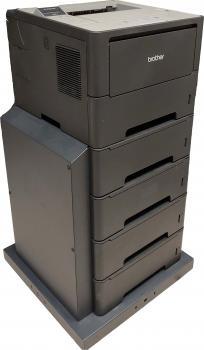 Brother HL-6180DW WLAN Laserdrucker SW inkl. ZLT4 4x 500 Blatt Zufuhr gebraucht