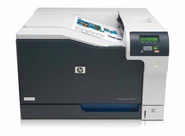 HP color Laserjet CP5225n CE711A gebraucht - erst 29.300 gedr. Seiten