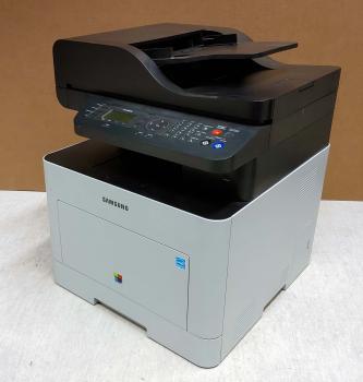 SAMSUNG CLX-6260FR CLX6260FR Farblaser- Multifunktionsdrucker gebraucht - 2.300 gedr. Seiten